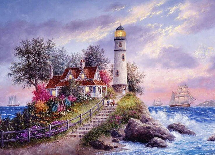 Lighthouse Diamond Painting Kit