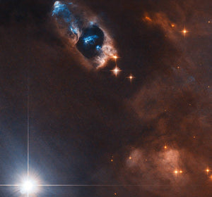 Smoking Gun of a Newborn Star Diamond Painting