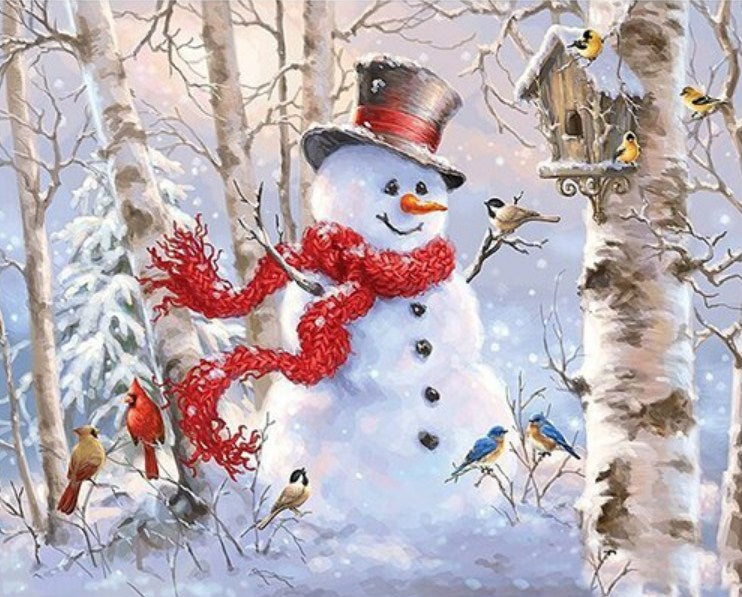 Snow Man DIY Diamond Painting