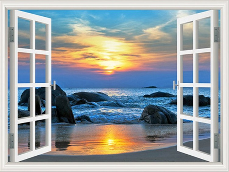 Beach View Diamond Painting