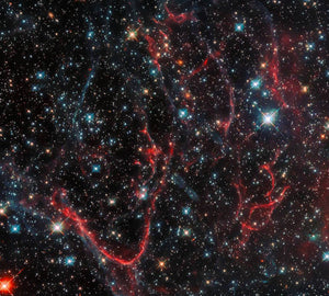 Tangled Remnants of a Supernova Diamond Painting