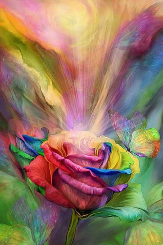 The Healing Rose Diamond Painting Kit