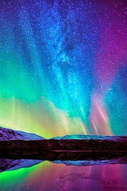 Northern Lights Paint by Diamonds