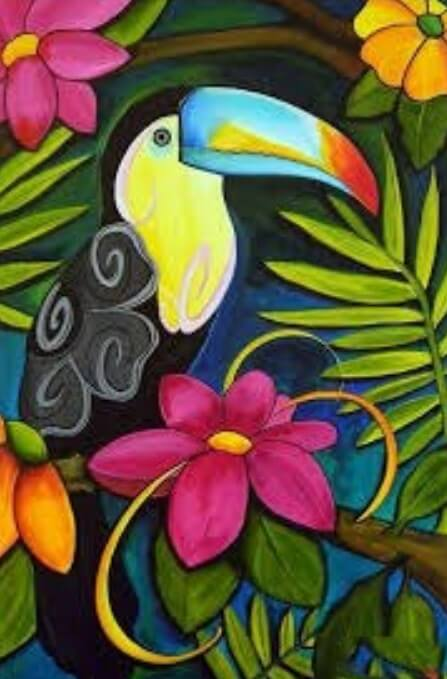 Toucan Diamond Painting Kit