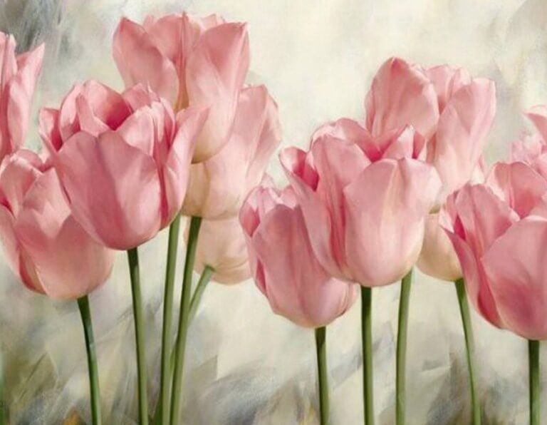 Tulips Diamond Painting