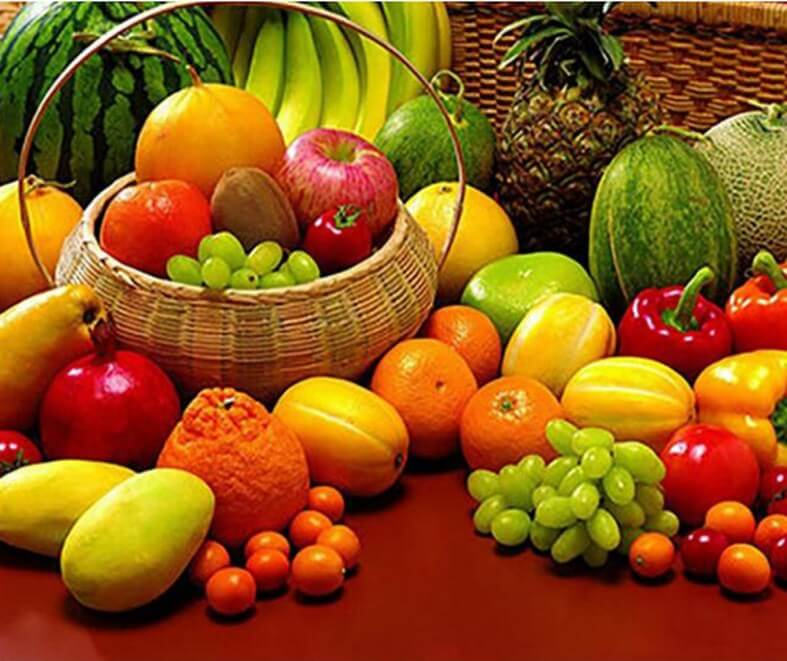 Vegetables & Fruits Diamond Painting