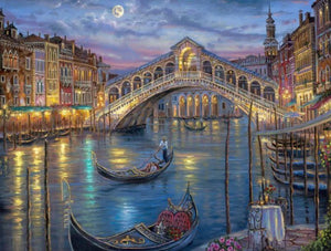 Venice Grand Canal Paint by Diamonds
