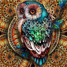 Load image into Gallery viewer, Owl DIY Diamond Painting