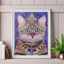 Load image into Gallery viewer, Jeweled Cat - Special Diamond Painting