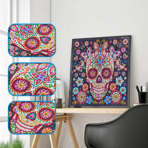 Sugar Skull Art - Special Diamond Painting
