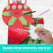 Load image into Gallery viewer, Diamond Drill Pens & Trays Organizer