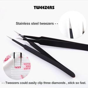 Stainless Steel Cross Tweezers