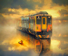 Load image into Gallery viewer, Rail Tracks & Trains DIY Diamond Paintings