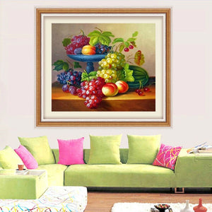 Yummy Fruits Collection DIY Painting