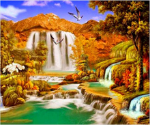 Load image into Gallery viewer, Nature Beauty DIY Diamond Painting