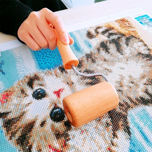 Wooden Roller Tool for Diamond Painting