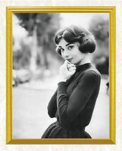 Load image into Gallery viewer, Audrey Hepburn in Short hair Diamond Painting