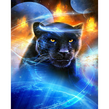 Load image into Gallery viewer, Black Panther DIY Diamond Painting