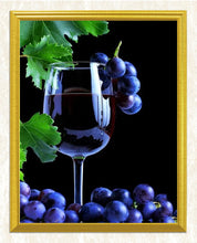 Load image into Gallery viewer, Wine Glass Diamond Painting Kit