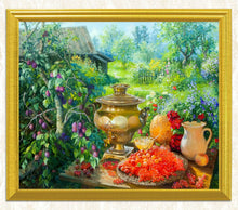 Load image into Gallery viewer, A Garden Picnic DIY Diamond Painting