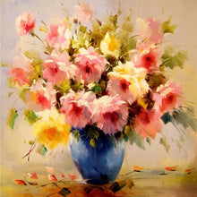Load image into Gallery viewer, Gorgeous Flowers Diamond Painting Kit