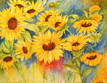 Load image into Gallery viewer, Flowers Art Kit