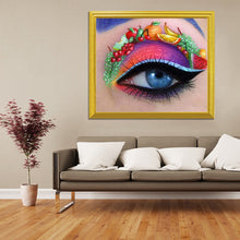 Load image into Gallery viewer, Fruit Art on Colorful Eye DIY Painting