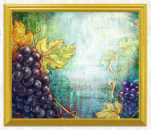 Still Life Grapes DIY Painting