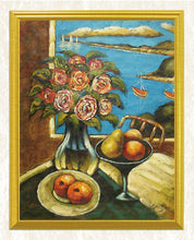 Load image into Gallery viewer, Still Life Roses & Fruits DIY Painting