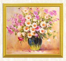Load image into Gallery viewer, Pink & White Flowers DIY Painting