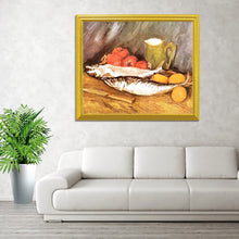 Load image into Gallery viewer, Salmon Lemon &Tomatoes - Vincent Van Gogh