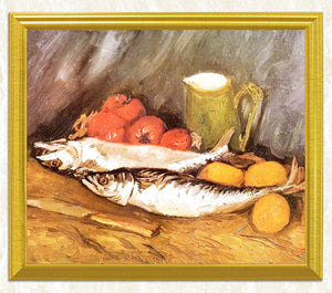 Salmon Lemon &Tomatoes - Vincent Van Gogh