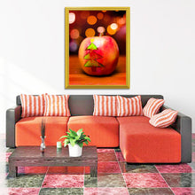 Load image into Gallery viewer, Christmas Tree on Apple DIY Diamond Painting