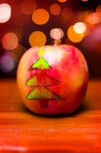 Load image into Gallery viewer, apple with xmas tree