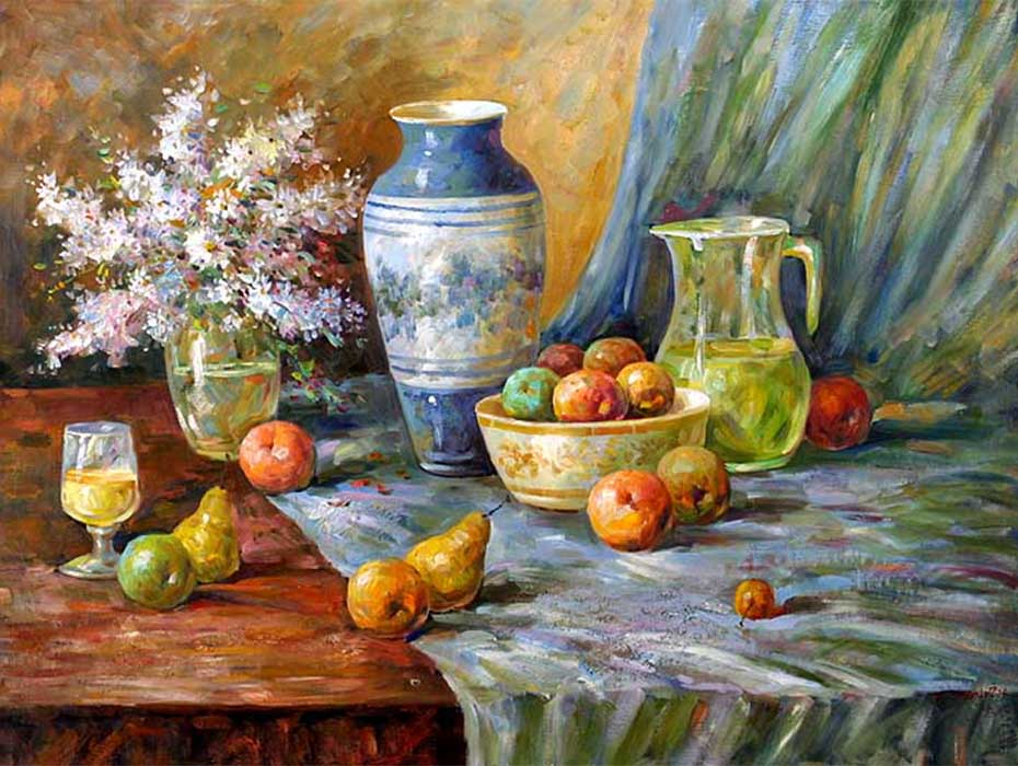 Still life painting kit