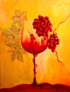Wine Glass Diamond Painting