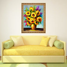 Load image into Gallery viewer, Colorful Flowers DIY Diamond Painting