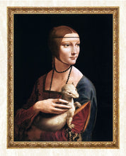 Load image into Gallery viewer, Lady with an Ermine - Leonardo da Vinci
