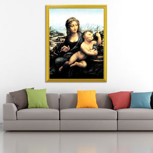 Madonna of the Yarnwinder DIY Diamond Painting