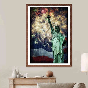 Statue of Liberty DIY Diamond Painting