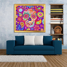 Load image into Gallery viewer, Calavera DIY Diamond Painting