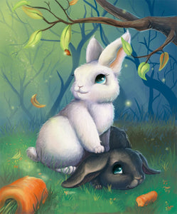 Rabbits Diamond Painting