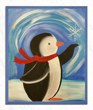 Load image into Gallery viewer, Little Penguin Catching Snow Flake