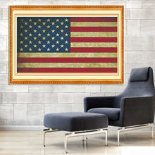 Load image into Gallery viewer, American Flag DIY Diamond Painting