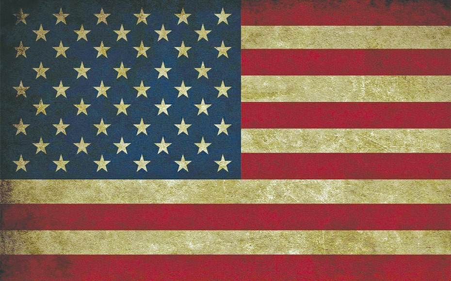 American Flag Diamond Painting Kit
