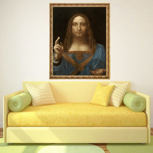 Leonardo da Vinci Salvator Mundi Diamond Painting