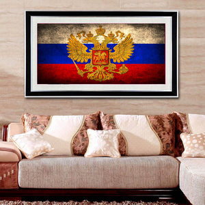 Russia Flag Diamond Painting