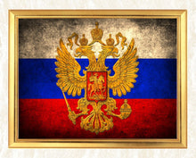 Load image into Gallery viewer, Russia Flag Diamond Painting