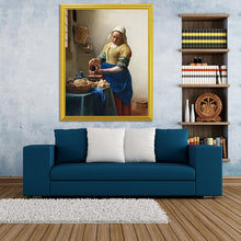 Load image into Gallery viewer, Milkmaid. Circa 1660 - Johannes Vermeer