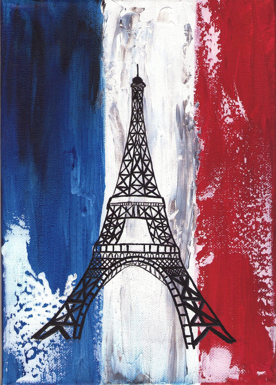 Eiffel Tower Diamond Painting Kit